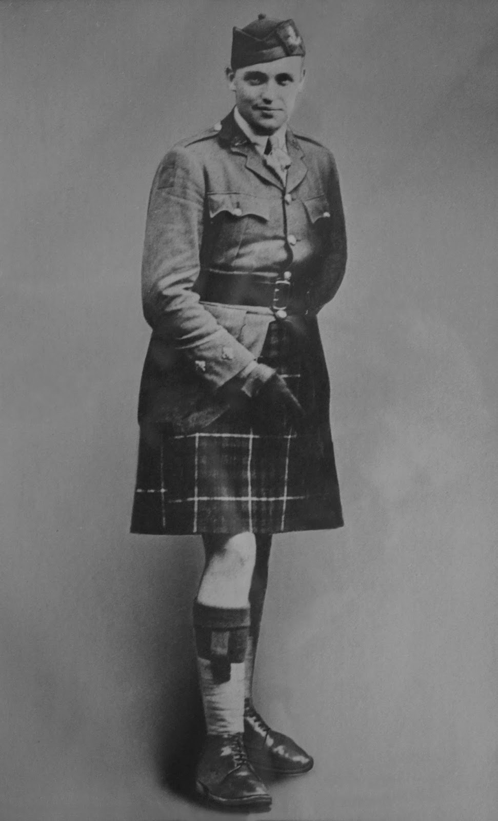 Photo of JAMES GIBSON LAURIER FRASER– Lt James Gibson Laurier Fraser 16th Battalion.