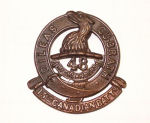 Cap Badge– Cap Badge 15th Bn (48th Higthlanders).  Submitted by Capt VR Goldman, 15th Bn Memorial Project.  DILEAS GU BRATH