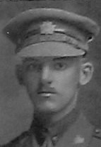 Photo of Leonard Charles Jarvis– Ltn L C Jarvis as depicted in the December 1918 edtion of The Christmas Echo published in London Ontario --And in the Morning