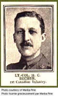 Photo of Major H. C. Becher