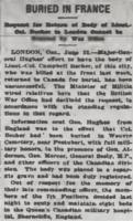 Newspaper clipping– From the Daily Colonist of June 23, 1915. Image taken from web address of https://archive.org/stream/dailycolonist57y167uvic#mode/1up