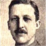 Photo of Major H. C. Becher– This photograph of Major H. C. Becher appeared in a Roll of Honour in a British publication.