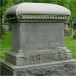 Family Monument– Flight Sub Lieutenant Charles T. Brimer's name is included on his family monument at Mount Pleasant Cemetery in Toronto, Ontario.