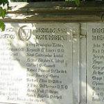 War Memorial– Listing of those University of Saskatchewan alumni on the War Memorial Gates who gave their lives in the Great War.  These are they who went forth from this University to the Great War 1914-1918 and gave their lives that we might live in freedom.   Hugh Carter Allingham,        William Mansell Codling, Renwick William Anderson,   John Stewart Cowan, Reginald John Bateman,        James Douglas Cumming, Charles McVicar Boyne,        John Kenneth Dawson, Harold John Blair M.C., Reginald James Dillan, Charles Bremner,        William Drysdale, James Brydon,                     Henry Egar, Frederick Burd,                     Lorne Burton Elliott, Thomas Caldwell,        Wilfred John Evans, Gordon Mortimer Channell, John Pisher, Ernest R. Gilmer,        Perry Dennington Kisbey, James Donald Graham M.M.,Reginald A. Lovers M.M. Robert Carlion Grant,        Shuli Gudbrandur Lindal, Arthur Gordon Gruchy,        Arthur Stephen K. Lloyd, Cyril N. Harrington,        Clifford McConnell, James Gordon Hill,        Robert Peveral McClordick, Lawrence Homer,                Louis James McCuien, Grenville Carson Hopkins,Michael Allan McMillan, Willis George Hunt,        J. Ross McPherson D.S.O., William Yrides Hunter,        Auned Yuil Mathews, Franklin Mager Keffer,        Enoch Andrew Mitchell, James Shirley Heathcote, John James Moore,        Ronald Charles Spence, Fred Nesbitt,                Arthur George Slarkings, Joseph Lees Nicholls,        George Swift, Angus Nicholson,Robert Sifton Turriff, George Irving Paterson,        Wellesley Wesley-Long, Arthur Edward Parlett,        Edward West, Elwyn Robert Reid,        Frank West, Thomas Ritchie,                Walter Ray Whittingham, Robert Rensay,                Paul P Wiklun, Roy E. Shuttleworth M.M.,Geoffrey Wilson, Hugh A. Silcoxand  Wilfrid Grant Wilson