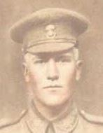 Photo of David Alexander Thompson– Youngest son of Adeline and Lewis Thompson.  Was killed in action in France.