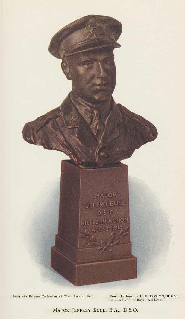 Bust of Jeffery Bull