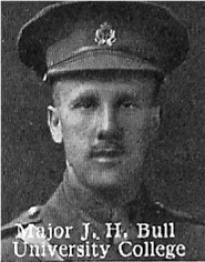 Photo of Jeffrey Bull– From: The Varsity Magazine Supplement published by The Students Administrative Council, University of Toronto 1916.   Submitted for the Soldiers' Tower Committee, University of Toronto, by Operation Picture Me.