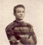 Photo of Alfred McKay– Eddie McKay in rugby uniform 