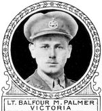 Photo of Balfour Palmer– From: The Varsity Magazine Supplement Fourth Edition 1918