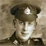 Photo of Victor Cecil Potts– This photo taken on November 18,1917 and sent to his father William in Toronto.