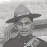 Photo of Henry Louis Norwest– Photo taken while as a member of 3rd Canadian Mounted Rifles, 1915.