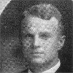 Photo of William Laurence Evans– Torontonensis 1913 (University of Toronto Year Book), pg. 263.  Caption: EXECUTIVE OF WESTERN CLUB 1912-13.  W. L. Evans, President.