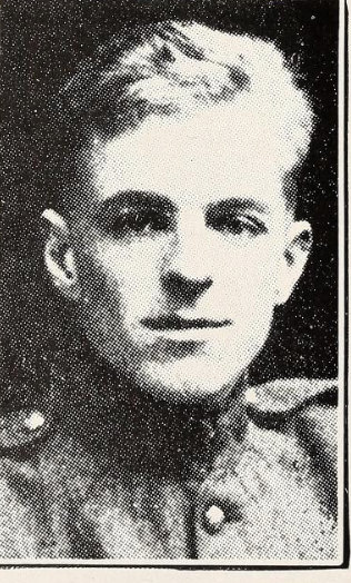 Photo of ROBERT GORDON HAMILTON– Photo from the National Memorial Album of Canadian Heroes c.1919. Submitted for the project, Operation: Picture Me.