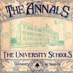 """University School Tribute– Cover and tribute from the 1916 edition of the University Schools' """"The Annals"""". This edition included Robert Gordon Hamilton's photo and biography on their roll of honour."""