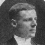 Photo of Richard Earl Horkins– Torontonensis 1913 (University of Toronto Year Book), pg. 265.  Caption:  University of Toronto 1912-1913, Columbian Club Executive Committee.