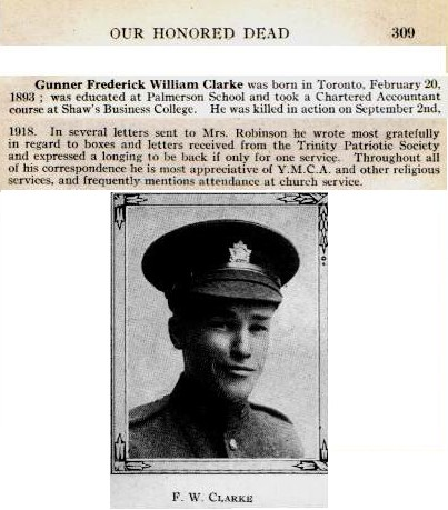 Photo of Frederick W. Clarke