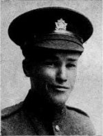 """Photo of Frederick W. Clarke– Frederick William Clarke, as a member of the Trinity Methodist Church in Toronto, was remembered in the """"Trinity War Book"""" published by the church in 1921."""