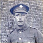 Photo of Roscoe Cooke– Pvt. Roscoe Cooke 2020200  47th Battn. C.E.F.  KIA in France Aug. 17th 1918.