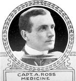 Photo of Andrew Ross– From: The Varsity Magazine Supplement Fourth Edition 1918 published by The Students Administrative Council, University of Toronto.   Submitted for the Soldiers' Tower Committee, University of Toronto, by Operation Picture Me.