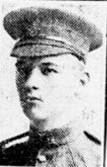 Newspaper clipping– From the London Free Press September 1918. Submitted for the project Operation Picture Me