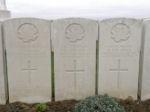 Grave marker– Gravemarker (right). Photo BGen G. Young 15th Battalion Memorial Project Team   DILEAS GU BRATH.