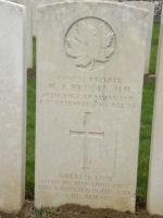 Grave marker– Gravemarker. Photo BGen G. Young 15th Battalion Memorial Project Team   DILEAS GU BRATH