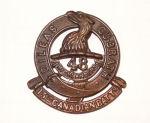 Cap Badge– 15th Bn cap badge. Photo BGen G. Young 15th Battalion Memorial Project Team.   DILEAS GU BRATH