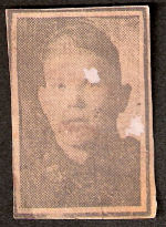Photo of Earl Palmer– Picture taken from the Bible notes of my Great Grandmother,  Bertha (nee Chase) Palmer, Witzka.   Father of Earl Palmer was my Great Grandfather,  John Palmer