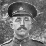 Photo of Herbert Henry Palmer– From a photograph of the 161st brass band taken while the Battalion was in England. In the collection of the donor.