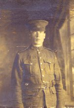 Photo of John Archibald McCallum– This is my Grandfather, John Archibald McCallum, killed in France Aug. 26, 1918.  He left a wife and 4 children. Please, let their sacrifice not be forgotten!