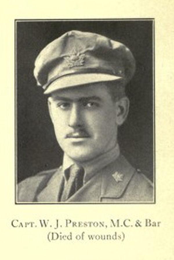 Photo of WILFRED JOHN PRESTON