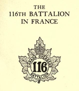 The 116th Battalion