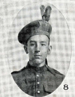 Photo of DAN FINDLAY BEATON– In memory of the men who joined the 185th Battalion (Cape Breton Highlanders) who went to war and did not come home. Submitted for the project, Operation Picture Me