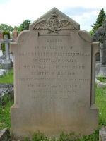 Grave Marker– Grave Stone of Lt. CHRISTOPHER SALMON, MACPHERSON PPCLI-RCR-RAF