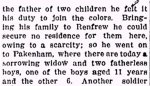 Newspaper Clipping (2)– Section 2 of a clipping from the Renfrew Mercury for 8 March 1918.