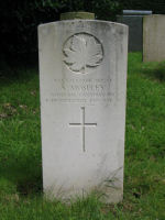 Grave Marker– Grave of St. Sgt. ALFRED MOSELEY, Buxton Cemetery