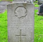 Grave Marker– The grave of Nursing Sister Ada Janet ROSS, Buxton Cemetery