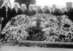 Funeral– The funeral of Nursing Sister Ada Janet Ross, July 15th 1918 (Fellow nurses by her graveside, Buxton Cemetery)
