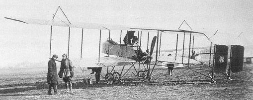 Graham White pusher plane