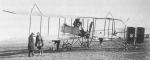 Graham White pusher plane– Photo courtesy of his nephew Gerald Francis Madigan of Los Angeles, and Kevin M. Keough.