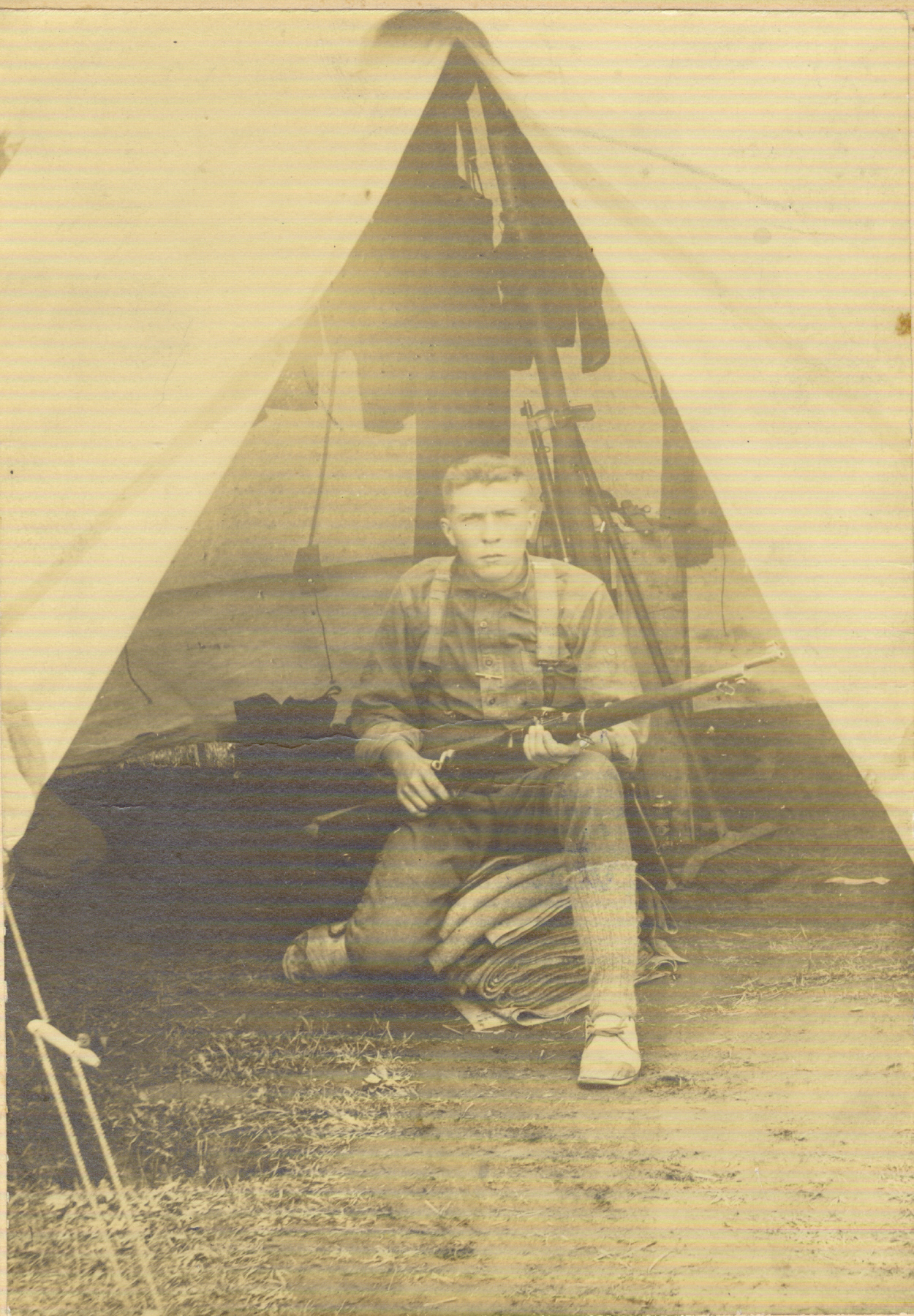 Photo de François-Xavier Langlois – 1897-1918