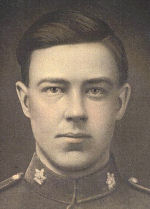 Photo of August Bakke– August Bakke in Canadian military uniform
