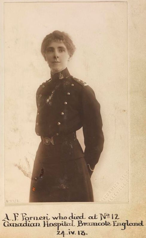 Photo of Agnes Florien Forneri– © IWM (WWC H22-2)