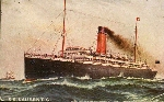 S.S. Laurentic– This ship took Goldie Pirie to England for his training at Salisbury Plain.  The ship left Quebec City on October 3rd to sail to England as a part of the historic First Contingent.