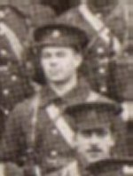 Photo of Goldwin McCausland Pirie in uniform– This card received in Dundas Ontario during the first Christmas of the war bears the only photo of Goldwin Pirie in uniform.