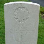 Grave Marker– Photograph of WF Cross's gravestone at St James Cemetery, Dover, Kent, UK