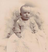 Photo of Earl Hume Love– Age 10-1/2 Months