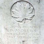 Grave Marker– Photo courtesy of Craig B. Cameron.
