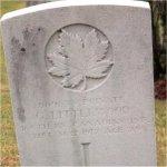 Grave Marker– Photo courtesy of Craig B.Cameron.
