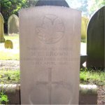 Grave Marker– A son of Canada returned home.